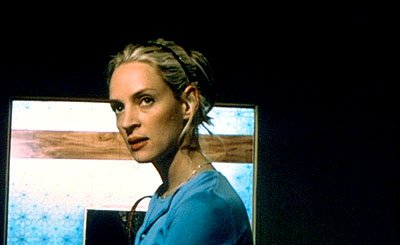 Uma Thurman as Amy in Lions Gate's Tape