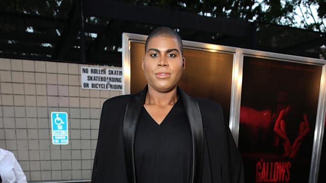 "EJ Johnson seen at the Los Angeles Premiere of New Line Cinema ""The Gallows"" held at Hollywood High School on Tuesday, July 7, 2015. (Photo by Eric Charbonneau/Invision for Warner Bros./AP Images)"
