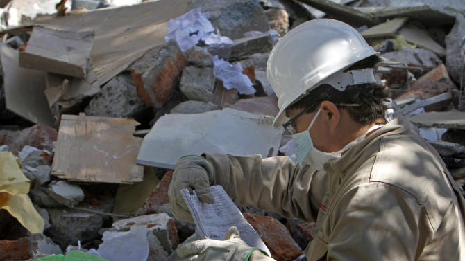 Heating system suspect in Mexico oil company blast