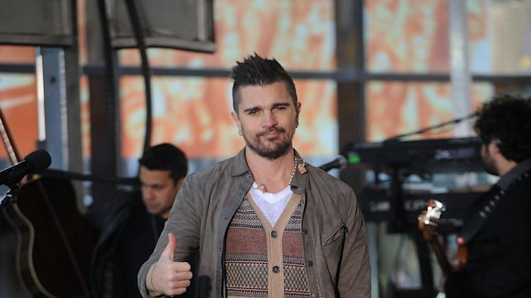 "Juanes Performs On NBC's ""Today"""