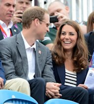: Kate Middleton, championne olympique des supportrices !