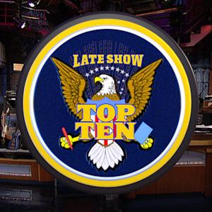 David Letterman - Vladimir Putin Spying Top Ten