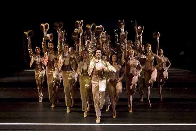 """A Chorus Line"" goes beyond wowing audiences with costumes, sets and stars. (Photo courtesy of Base Entertainment)"