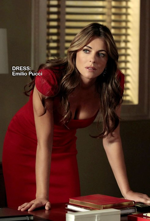 "Elizabeth Hurley as Diana Payne in the Season 5 episode ""The Fasting and the Furious."" Gossip Girl"