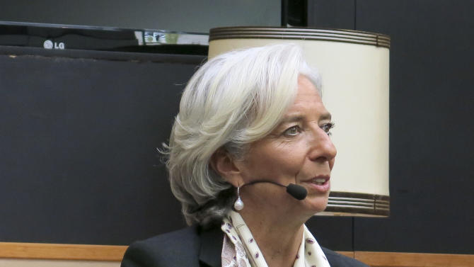 IMF's Lagarde criticizes US spending cuts