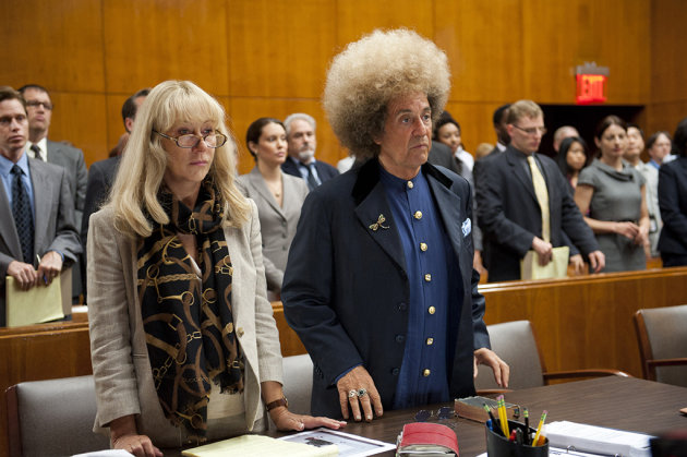 "Al Pacino and Helen Mirren in ""Phil Spector."""