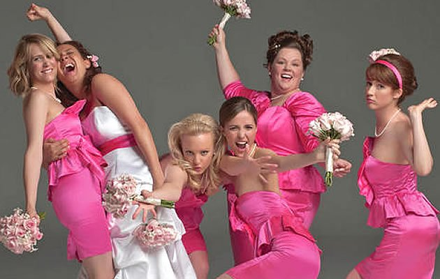 Bridesmaid power! (Yahoo! Photo)