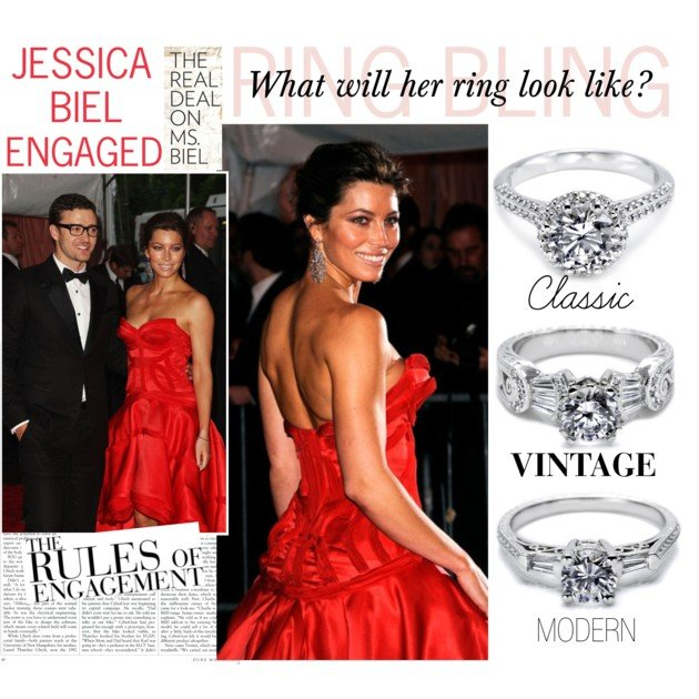 Celeb News: Jessica Biel's Ring Bling