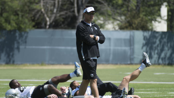 NFL: Oakland Raiders-Rookie Minicamp