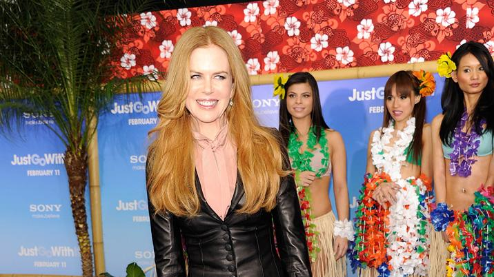 Just Go With It LA Premiere 2011 Nicole Kidman