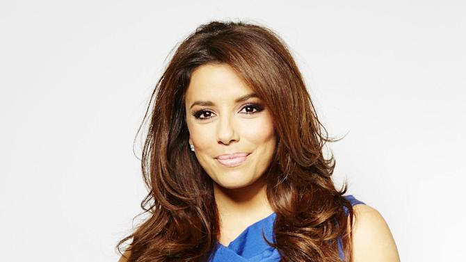 """In this Thursday, March 7, 2013 photo, chosen as the face of the new SHEBA global campaign """"Follow Your Passion,"""" actress and executive producer Eva Longoria poses for a portrait, in New York. She's busy behind-the-camera too as an Executive Producer on two upcoming television shows. The first, a reality dating show called """"Ready for Love,"""" premieres later this month on NBC. She is also Executive Producer of """"Devious Maids,"""" alongside """"Desperate Housewives"""" creator Mark Cherry.   (Photo by Dan Hallman/Invision/AP)"""