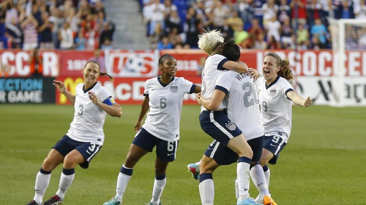 Soccer: Women's Friendly-Korea at USA