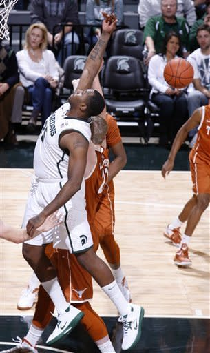 Nix's big day lifts Michigan St. over Texas 67-56