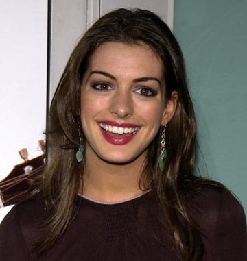 Anne Hathaway at the LA premiere of Paramount's The School of Rock