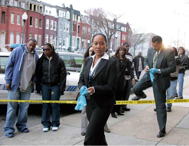 Sonja Sohn in The Wire. 