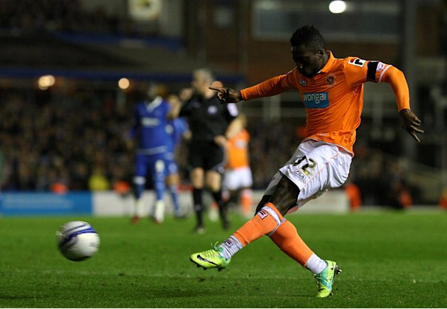 Nouha Dicko scored four times in 16 appearances for Blackpool last season