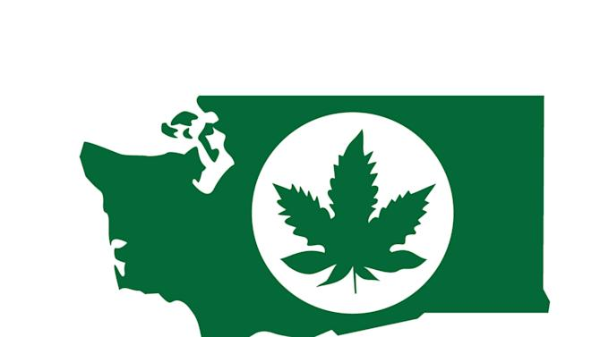 In this graphic provided by the Washington State Liquor Control Board, a logo that will be used for labeling legal marijuana produced in Washington state is shown. Officials released a preliminary draft of regulations for growing and selling legalized marijuana Thursday, May 16, 2013. Voters last November made Washington and Colorado the first states to legalize the sale of taxed marijuana to adults over 21 at state-licensed stores. (AP Photo/Washington State Liquor Control Board)