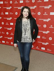 Writer Stephanie Meyer poses at the premiere of &quot;Austenland&quot; during the 2013 Sundance Film Festival on Friday, Jan. 18, 2013 in Park City, Utah. (Photo by Danny Moloshok/Invision/AP)