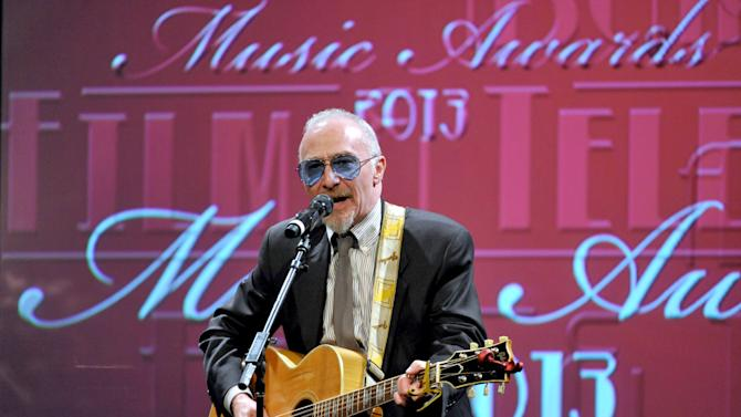 Graham Parker performs at the ASCAP Film and Television Awards at the Beverly Hilton Hotel on Thursday, June 20, 2013 in Beverly Hills, Calif . (Photo by John Shearer/Invision for ASCAP/AP Images)
