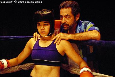 Michelle Rodriguez and Jaime Tirelli in Screen Gems' Girlfight