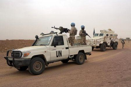 Suspected jihadists kill 3 in rocket attack on U.N. base in Mali