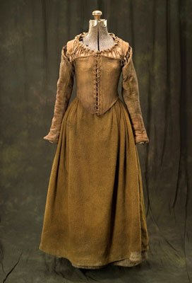 A costume from New Line Cinema's The New World