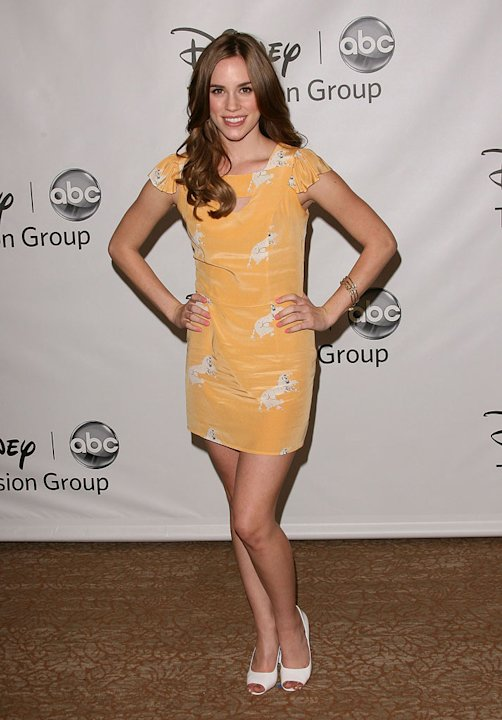 Christa B. Allen of &quot;Revenge&quot; attends the Disney ABC Televison Group's 'TCA 2001 Summer Press Tour' at the Beverly Hilton Hotel on August 7, 2011 in Beverly Hills, California. 