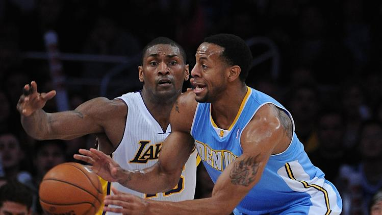 NBA: Denver Nuggets at Los Angeles Lakers