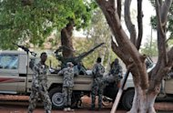 &lt;p&gt;Malian soldiers stand guard on April 3, at the Kati military camp near Bamako. When Western forces helped topple Libya&#39;s Moamer Kadhafi they forced hundreds of well-armed Tuareg fighters to flee home to Mali, tipping another fragile African state into chaos, experts say.&lt;/p&gt;