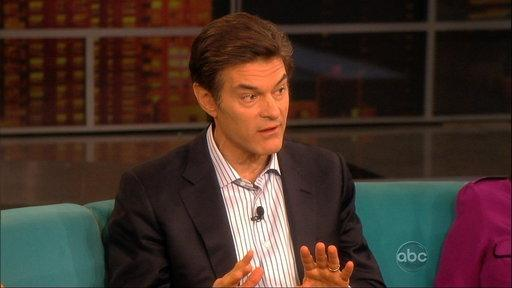 Dr. Oz Visits the View!