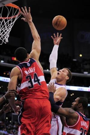 Griffin, Foye help Clippers beat Wizards
