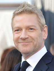 Actor Kenneth Branagh, pictured in February 2012, was given the higher rank of knight commander and joins the pantheon of British actors who have been made a sir