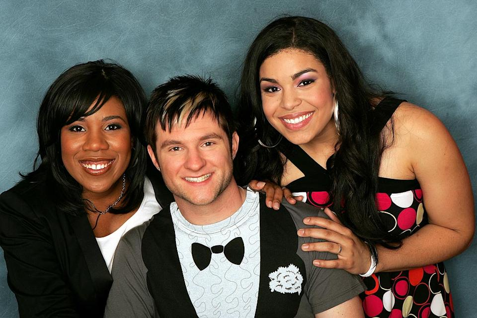 The final 3 contestants remaining on the 6th season of American Idol. Lakisha Jones