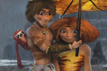 'The Croods' Poised to Unseat 'Oz,' Capture Busy Box-Office Weekend