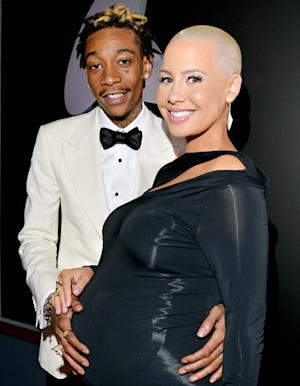 Amber Rose, Wiz Khalifa Welcome Baby Boy!