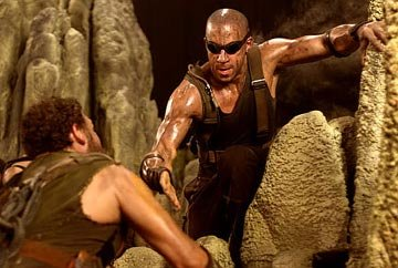 Vin Diesel in Universal's The Chronicles of Riddick
