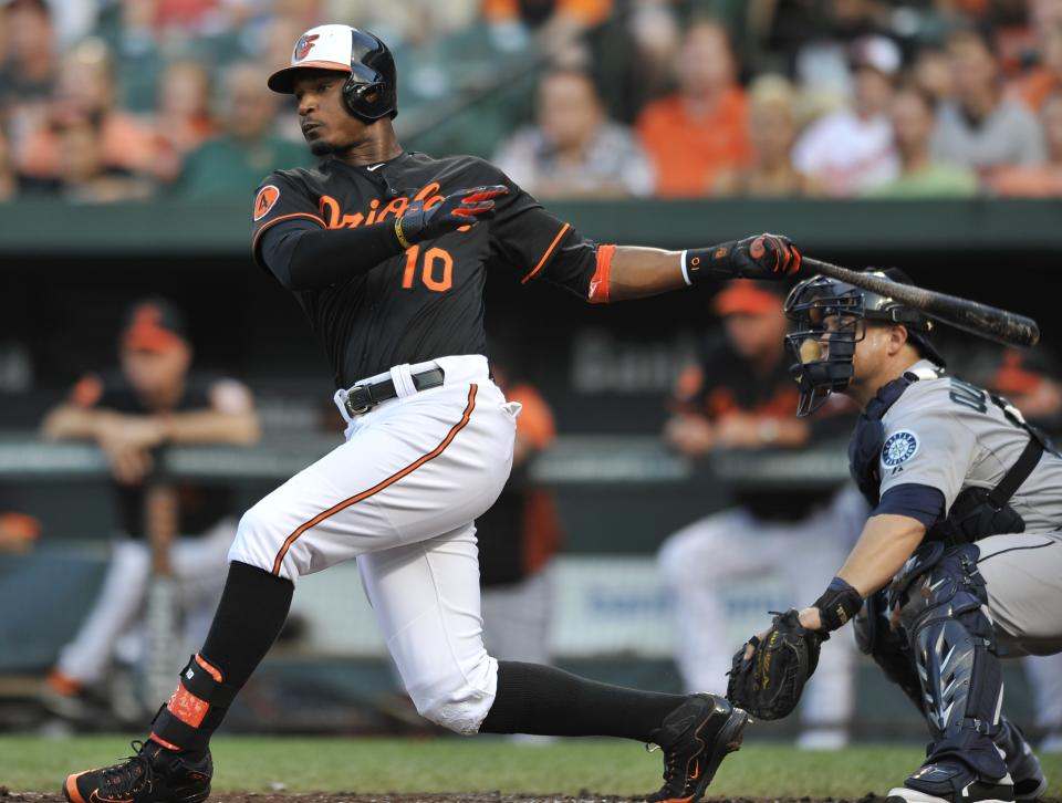 Davis hits 40th HR as Orioles beat Mariners 11-8