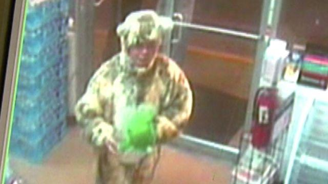 'Cat man' terrorizes gas station workers