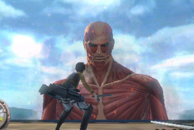 An Attack on Titan game is coming to the Nintendo 3DS