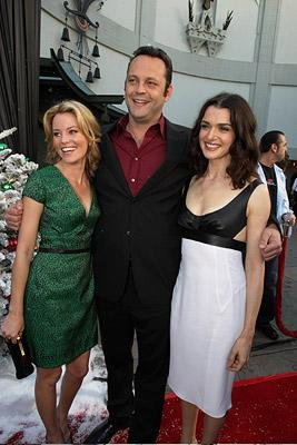 Elizabeth Banks , Vince Vaughn and Rachel Weisz at the Hollywood premiere of Warner Bros. Pictures' Fred Claus
