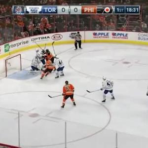 James Reimer Save on Andrew MacDonald (01:29/1st)