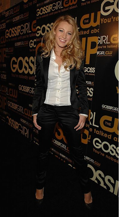 Blake Lively at the Gossip Girl premiere party in New York City  - 09/18/2007 