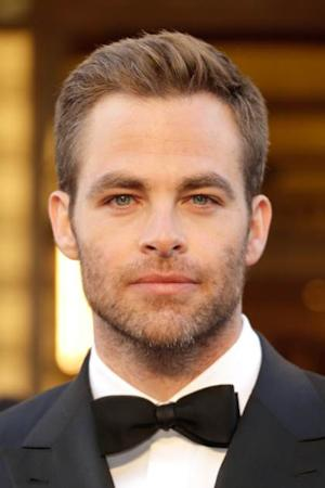 Chris Pine arrives at the Oscars at the Hollywood & Highland Center, Hollywood, on February 24, 2013 -- Getty Images