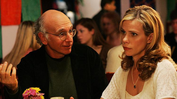 Larry David and Cheryl Hines star in Curb Your Enthusiasm on HBO.