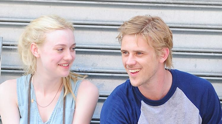 Spotted on Set, Dakota Fanning, Boyd Holbrook