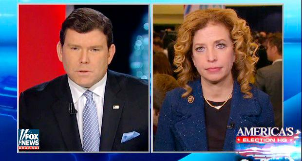Fox's Bret Baier Presses DNC Chair About Fox News Hosting Democratic Debate