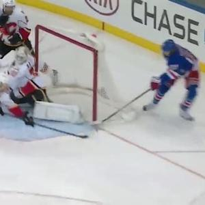 Carl Hagelin scores wrap-around on Ramo