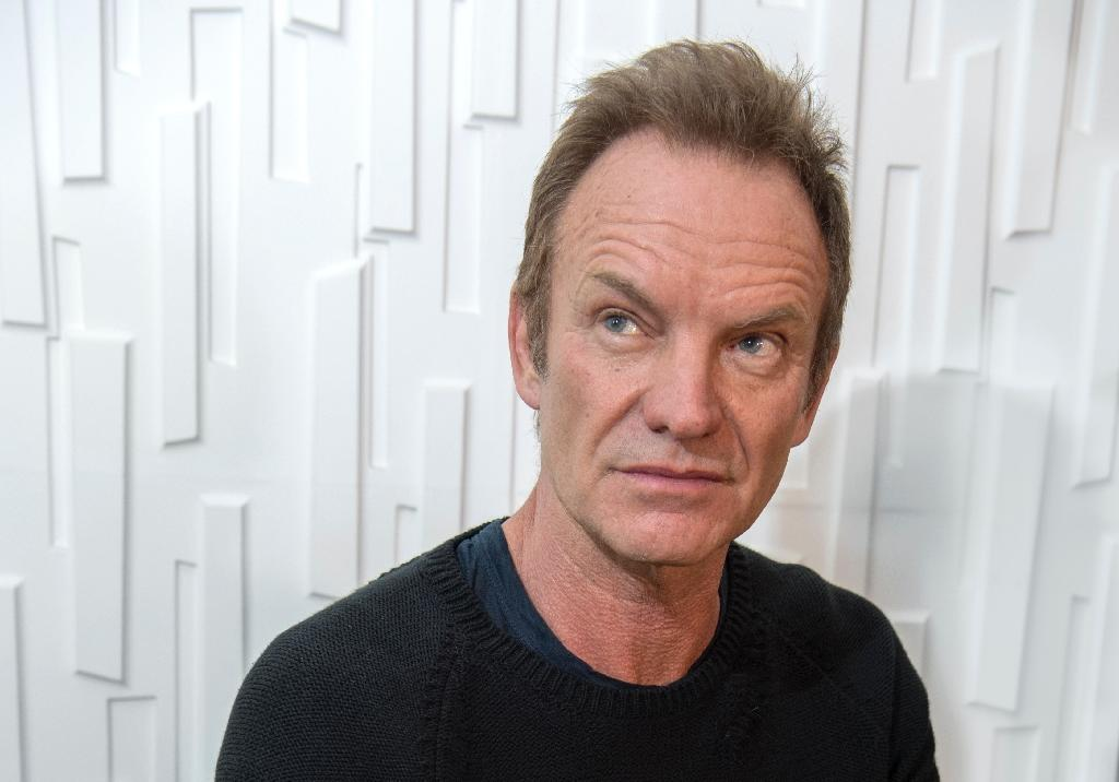 Sting back to rock and striving to stay optimistic
