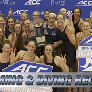 Virginia Wins 2015 ACC Women's Swimming & Diving Championship