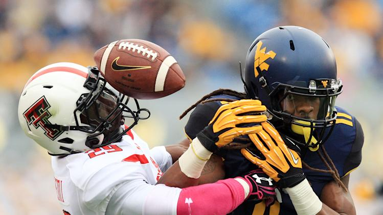 No. 16 Texas Tech beats West Virginia 37-27